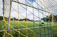 Foto: Gerrit de Heus. Driehuis. 14-07-2015. Telstar-Elftal VVCS. Eerste doelpunt van VVCS via een penalty.
