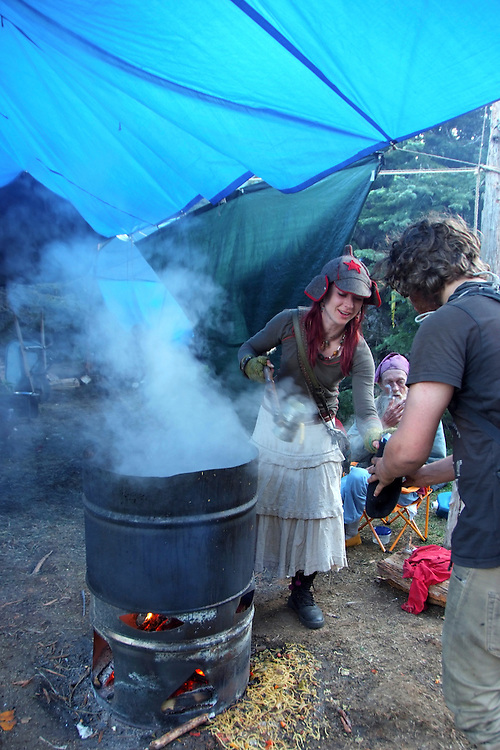 Rainbow Gathering Washington 2011