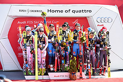 17.03.2017, Aspen, USA, FIS Weltcup Ski Alpin, Finale 2017, Teamevent, im Bild Teamevent GER;SWE;ITA // Teamevent GER SWE ITA during Teamevent of 2017 FIS ski alpine world cup finals. Aspen, United Staates on 2017/03/17. EXPA Pictures © 2017, PhotoCredit: EXPA/ Erich Spiess