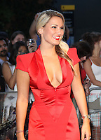 Sam Faiers Transformers: Dark Of The Moon screening, BFI IMAX , London, UK, 26 June 2011:  Contact: Rich@Piqtured.com +44(0)7941 079620 (Picture by Richard Goldschmidt)
