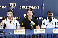 Garrett Wittels Press Conference FIU 2011