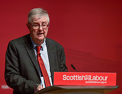 First Minister of the Welsh Assembly Mark Drakeford speaks to the the Scottish Labour spring conference 2019 in Dundee.<br /> <br /> © Dave Johnston / EEm