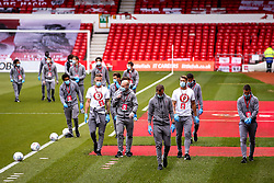 Bristol City arrive at the City Ground ahead of their Sky Bet Championship fixture with Nottingham Forest - Mandatory by-line: Robbie Stephenson/JMP - 01/07/2020 - FOOTBALL - The City Ground - Nottingham, England - Nottingham Forest v Bristol City - Sky Bet Championship