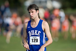 Duke Blue Devils Ryan McDermott (120)..The Atlantic Coast Conference Cross Country Championships were held at Panorama Farms near Charlottesville, VA on October 27, 2007.  The men raced an 8 kilometer course while the women raced a 6k course.