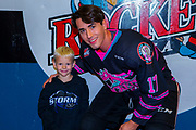 KELOWNA, CANADA - SEPTEMBER 21: Home hardware stick boy with Alex Swetlikoff #17 of the Kelowna Rockets at the Kelowna Rockets game on September 21, 2019 at Prospera Place in Kelowna, British Columbia, Canada. (Photo By Cindy Rogers/Nyasa Photography, *** Local Caption ***