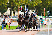 Boyd Exell, (AUS), Capone II, Curios, Rambo 395, Spitfire, Winston - Driving Marathon - Alltech FEI World Equestrian Games™ 2014 - Normandy, France.<br /> © Hippo Foto Team - Jon Stroud<br /> 06/09/2014