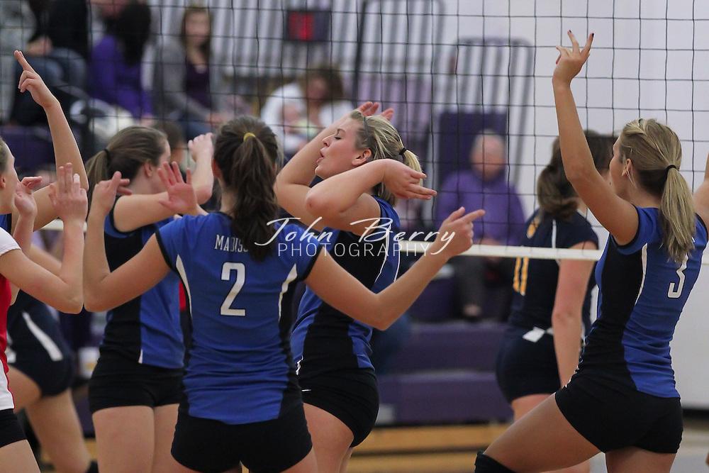 November/4/10:  MCHS Varsity Volleyball vs Rappahannock, Bull Run District Tournament Semifinals, Rappahannock wins 3-1.