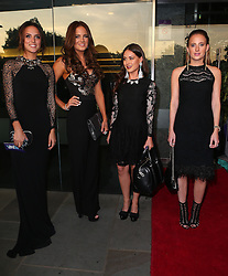 Made In Chelsea stars Lucy Watson, Binky Felstead, Louise Thompson and  Rosie Fortescue attend the TV Choice Awards 2014 held at London Hilton, London, UK. 08/09/2014<br />BYLINE MUST READ : JAMESY/GOTCHA IMAGES<br /><br />Copyright by © Gotcha Images Ltd. All rights reserved.<br />Usage of this image is conditional upon the acceptance <br />of Gotcha Images Ltd, terms and conditions available at<br />www.gotchaimages.com