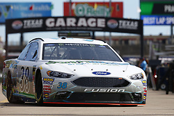 November 2, 2018 - Ft. Worth, Texas, United States of America - David Ragan (38) takes to the track to practice for the AAA Texas 500 at Texas Motor Speedway in Ft. Worth, Texas. (Credit Image: © Justin R. Noe Asp Inc/ASP via ZUMA Wire)