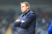 David Flitcroft during the Sky Bet League 1 match between Rochdale and Bury at Spotland, Rochdale, England on 12 March 2016. Photo by Daniel Youngs.