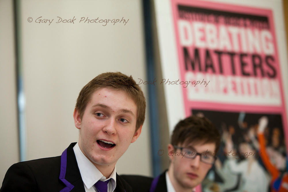 Debating Matters 2011.Scotland & Northern Ireland Regional Final.Infomatics Forum.Edinburgh