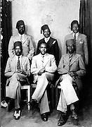 Nubian men have their photo taken (circa 1950s)