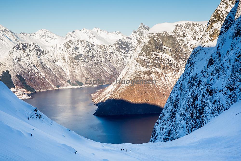 Slogen and the hjørundfjord