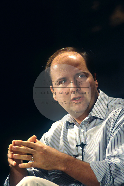 Computer entrepreneur and founder of Thinking Machines Corporation Danny Hillis June 4, 1997 in Washington, DC.