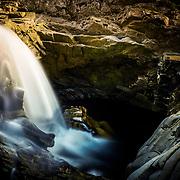 The lower falls of Bruar, Pitagowan, Perthshire
