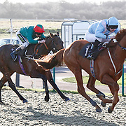 Examiner and Liam Jones winning the 2.05 race