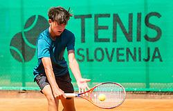 Ziga Svec at Tenis Fest at ATP Challenger Zavarovalnica Sava Slovenia Open 2019, day 8, on August 16, 2019 in Sports centre, Portoroz/Portorose, Slovenia. Photo by Vid Ponikvar / Sportida