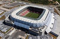"Football Fifa World Cup Brazil 2014 / <br /> Arena Pernambuco Stadium - Recife , Pernambuco_Brazil -<br /> Panoramic View of "" ARENA PERNAMBUCO ""  , The Stadium , is ready for <br /> the next FIFA World Cup Brazil 2014 , and able to accommodate a capacity of 44,248 spectators"