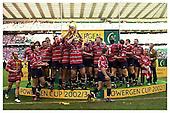 Powergen Cup Final Season 2002-2003. Gloucester v Northampton Saints