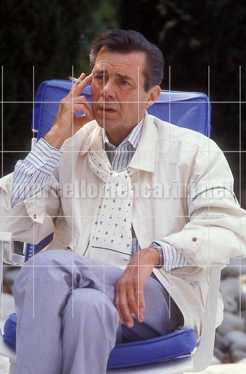 Cannes Film Festival 1984. British actor Dirk Bogarde, president of the jury / Festival del Cinema di Cannes, 1984. L'attore Dirk Bogarde, presidente della giuria - © Marcello Mencarini