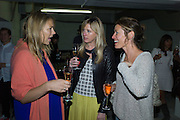 TORY COOK; DAISY BIRD; DIANA DUGDALE, IVAR WIGAN THE GODS Private View:  PM/AM, 259-269 Old Marylebone Road, London 11th June 2015.