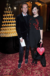 GWAIN RAINEY and JASMINE GUINNESS at a party to celebrate 300 years of Tatler magazine held at Lancaster House, London on 14th October 2009.