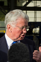 Pictured: <br /> Today Defence Secretary Sir Michael Fallon visited Midlothian engineering firm MacTaggart Scott which designs, builds and installs lightweight, low-noise hydraulic systems used by the British, US, French, Canadian, Australian and South Korean navies.<br /> Ger Harley | EEm 2 February 2017