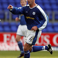 St Johnstone FC...2004-05<br />David Hannah<br /><br />Picture by Graeme Hart.<br />Copyright Perthshire Picture Agency<br />Tel: 01738 623350  Mobile: 07990 594431