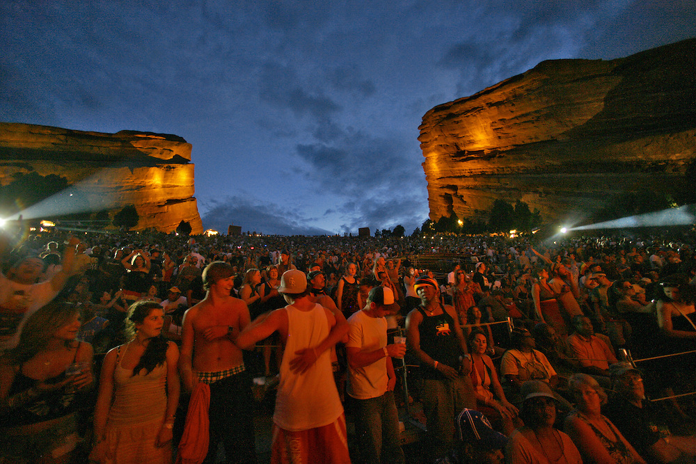 Rebelution performs live at the 2010 Reggae on the Rocks at Red Rocks Amphitheatre in Golden, Colorado