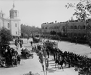 World War I 1914-1918: Entry of Field Marshal Allenby, Jerusalem,  11 December  1917.  Allenby, British soldier and administrator, Commander of Egyptian Expeditionary Force.