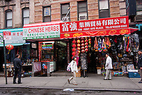 China town in New York City October 2008