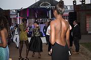 JENNY BASTET; ROSANN BENETT; LEOMIE ANDERSON; , 2016 SERPENTINE SUMMER FUNDRAISER PARTY CO-HOSTED BY TOMMY HILFIGER. Serpentine Pavilion, Designed by Bjarke Ingels (BIG), Kensington Gardens. London. 6 July 2016
