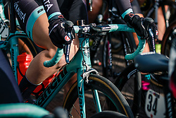 Bianchi of Colavita/Bianchi (USA) at the start before the UCI Women's WorldTour Ronde van Drenthe at Hoogeveen, Drenthe, The Netherlands, 11 March 2017. Photo by Pim Nijland / PelotonPhotos.com | All photos usage must carry mandatory copyright credit (Peloton Photos | Pim Nijland)