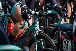 Bianchi of Colavita/Bianchi (USA) at the start before the UCI Women's WorldTour Ronde van Drenthe at Hoogeveen, Drenthe, The Netherlands, 11 March 2017. Photo by Pim Nijland / PelotonPhotos.com | All photos usage must carry mandatory copyright credit (Peloton Photos | Pim Nijland)