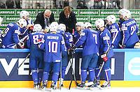 Deception France - 03.05.2015 - France / Suisse - Championnat du Monde de Hockey sur Glace -Prague <br />Photo : Xavier Laine / Icon Sport
