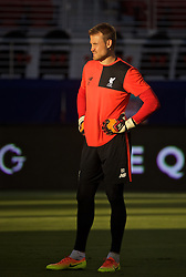 SANTA CLARA, USA - Friday, July 29, 2016: Liverpool's goalkeeper Simon Mignolet during a training session ahead of the International Champions Cup 2016 game against AC Milan on day nine of the club's USA Pre-season Tour at the Levi's Stadium. (Pic by David Rawcliffe/Propaganda)