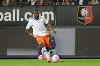 FOOTBALL - FRENCH CHAMPIONSHIP 2011/2012 - L1 - STADE RENNAIS v MONTPELLIER HSC - 7/05/2012 - PHOTO PASCAL ALLEE / DPPI - HENRI BEDIMO (MON)