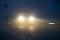 ©Licensed to London News Pictures 01/01/2020<br /> Orpington ,UK. New years day foggy weather in South East London this morning in Orpington a London borough of Bromley.Photo credit: Grant Falvey/LNP