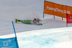 15-02-2018 KOR: Olympic Games day 6, PyeongChang<br /> Alpine Skiing Ladies Giant Slalom / Ana Drev of Slovenia