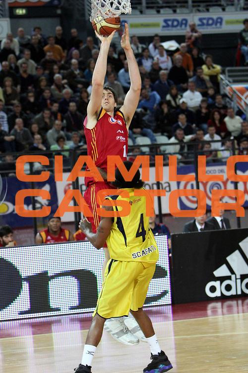 DESCRIZIONE : Roma Lega A1 2007-08 Lottomatica Virtus Roma Legea Scafati<br />GIOCATORE : Erazem Lorbek<br />SQUADRA : Lottomatica Virtus Roma<br />EVENTO : Campionato Lega A1 2007-2008 <br />GARA : Lottomatica Virtus Roma Legea Scafati<br />DATA : 03/02/2008<br />CATEGORIA : Tiro <br />SPORT : Pallacanestro <br />AUTORE : Agenzia Ciamillo-Castoria/C.De Massis<br />Galleria : Lega Basket A1 2007-2008 <br />Fotonotizia : Roma Campionato Italiano Lega A1 2007-2008 Lottomatica Virtus Roma Legea Scafati<br />Predefinita :