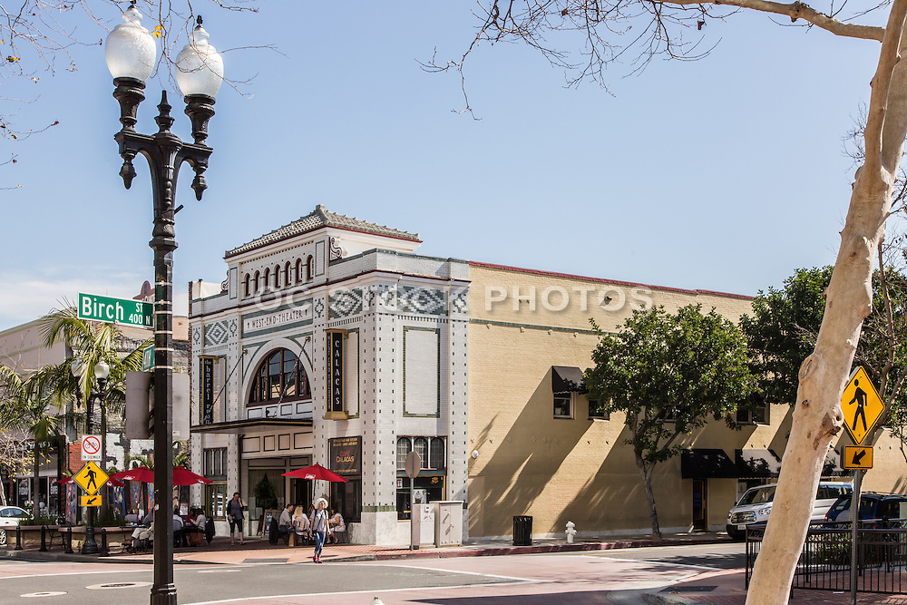 West End Theater Downtown Santa Ana