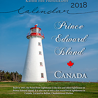2018 Prince Edward Island Calendar<br />