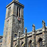 University's St Salvator's Chapel in St Andrews, Scotland<br />