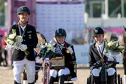 Hext Suzanna, GBR,Zeibig Steffen, GER, Thorning Joergensen Tobias, DEN<br /> FEI European Para Dressage Championships - Goteborg 2017 <br /> &copy; Hippo Foto - Dirk Caremans