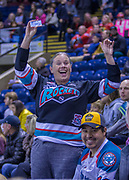 KELOWNA, CANADA - OCTOBER 22:  BCAA Promotion at the Kelowna Rockets game on October 22, 2017 at Prospera Place in Kelowna, British Columbia, Canada.  (Photo By Cindy Rogers/Nyasa Photography,  *** Local Caption ***