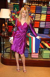 MEREDITH OSTROM at a party at Ralph Lauren, Bond Street, London in support of the NSPCC's Full Stop campaign on 21st March 2006.<br /><br />NON EXCLUSIVE - WORLD RIGHTS