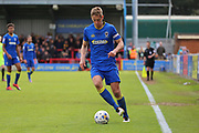 AFC Wimbledon defender Paul Robinson (6) clearing the ball during the EFL Sky Bet League 1 match between AFC Wimbledon and Peterborough United at the Cherry Red Records Stadium, Kingston, England on 17 April 2017. Photo by Matthew Redman.