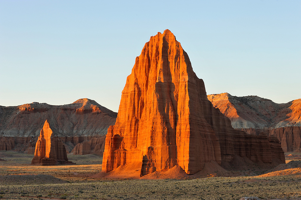 Sonnenaufgang im Cathedral Valley, Capitol Reef Nationalpark