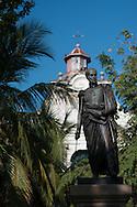 Simon Bolivar monument on omonymous square.