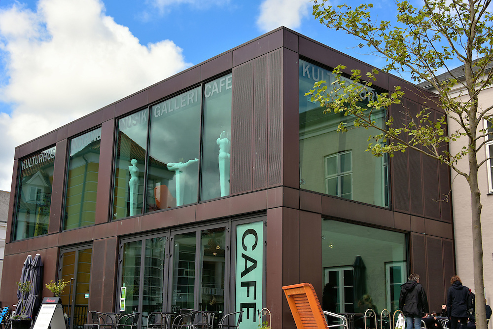 Culture Caf&eacute; at Kulturhus in Svendborg, Denmark<br /> The Culture Caf&eacute; is part of Borgerforeningen Kulturhus. The Cultural Center is a complex of halls and an auditorium for special events and concert performances.